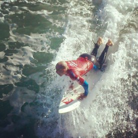 Kelly Slater from Florida in Heat 3 Round 4