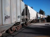 the Union Pacific cuts through California