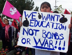 education-not-war_4-3-05