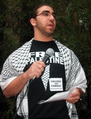 Speaking about the role of the US and Israeli militaries in the occupation of Palestine