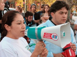 Maria expressed solidarity and called for an escalation of tactics