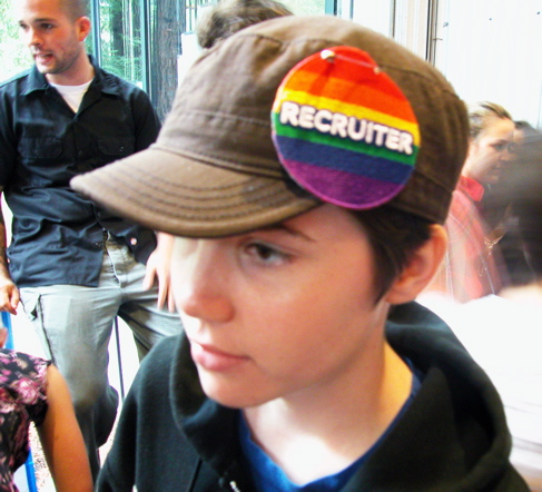 a queer recruiter