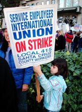 SEIU on Strike
