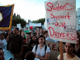 can it be anymore clear that students support bus drivers?