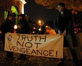 Truth Not Vengeance!