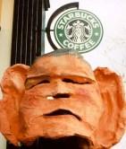 Bush at Starbucks