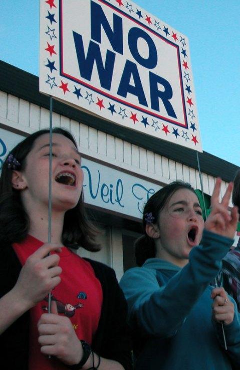 No War veil