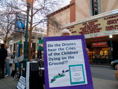 Do the Drones Hear the Cries of the Children Dying on the Ground?