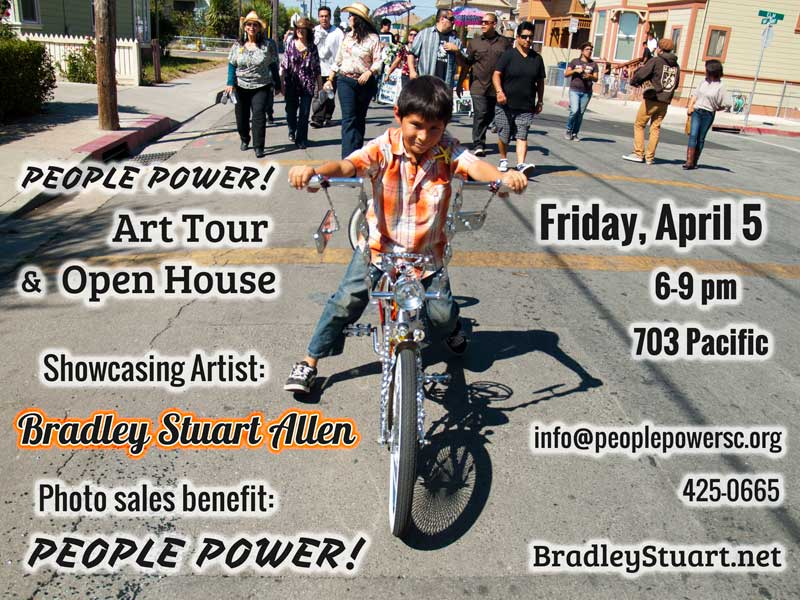 People Power Art Tour April 2013