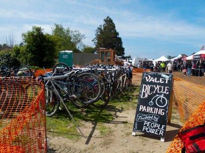 Valet Bicycle Parking