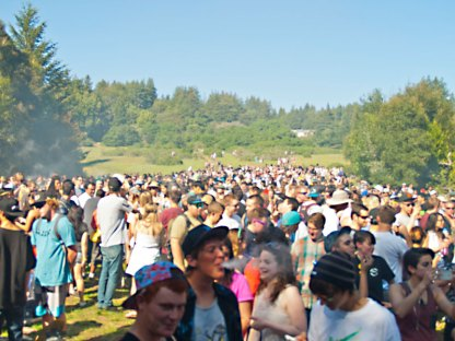 420 2013 in Porter Meadow at UC Santa Cruz
