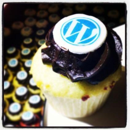 WordPress Cupcakes at Automattic