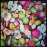 Apples ready for the crusher