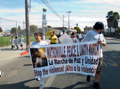 Watsonville Peace & Unity March: La Marcha de Paz y Unidad