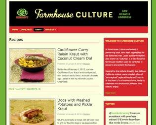 Farmhouse Culture Recipes