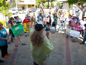 "Sierra from Maui, Hawaii. Sierra says Hawaii is, ""Ground Zero for GMOs."""