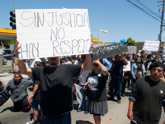 Sin Justicia No Hay Respeto. Without Justice There Is No Respect