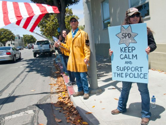 SPD Keep Calm And Support The Police