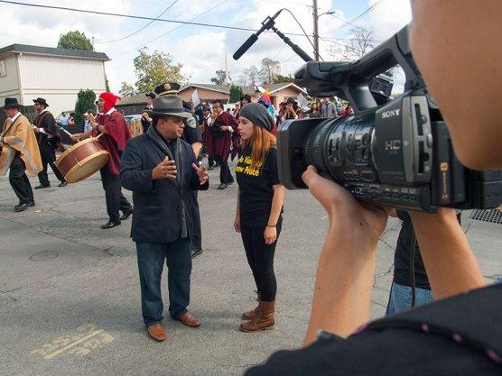 Watsonville High Community Studies Students Speak with Luis Alejo