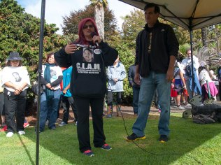 "Sweatshirt in Memory of Oscar Sergio ""Clam"" Aguilar of Salinas (1958-2013)"