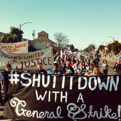Shut It Down with a General Strike!