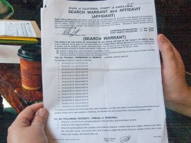 Search Warrant page 1