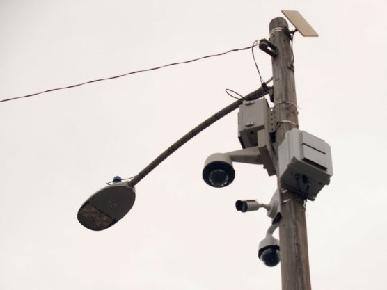 The Salinas Police Department mounted surveillance cameras to a utility pole on Soledad Street and Market Way in Chinatown.