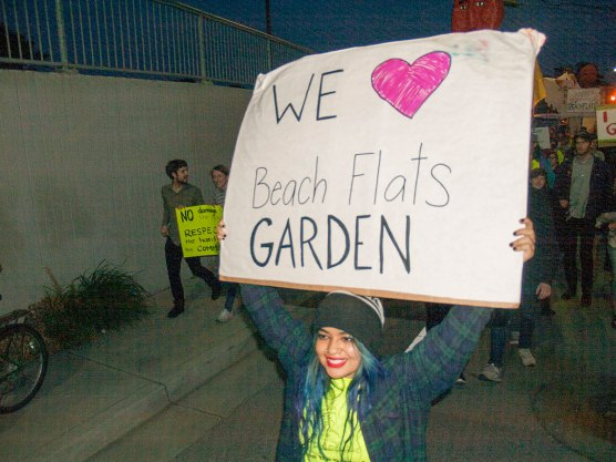 We Love Beach Flats Garden