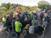 Gardeners and Allies Rally in the Beach Flats Community Garden