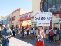 Santa Cruz Beach Boardwalk: Save Beach Flats