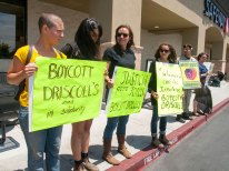 Solidarity with the Farmworkers. Boycott Driscoll's