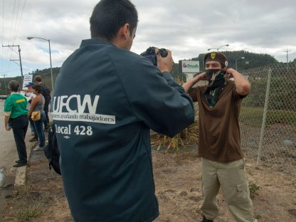 SFSU Documentary Students Interview Michael Garcia of Watsonville Brown Berets