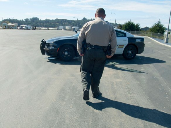 Monterey County Sheriff and Driscoll's Berry Store