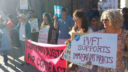 Pajaro Valley Federation of Teachers Supports Immigrants