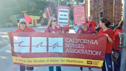 California Nurses Association: Patients Are Our Special Interest