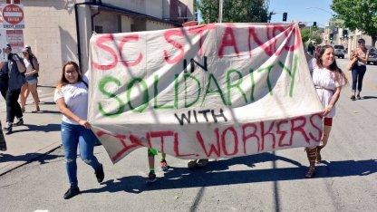 Santa Cruz Stands in Solidarity with International Workers