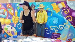 Irene and the Beach Flats Park Mural