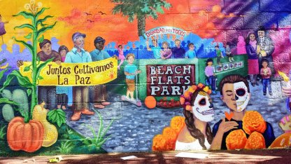 Beach Flats Park Mural