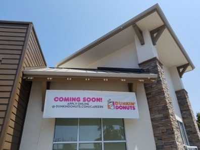 Dunkin' Donuts is Coming Soon on Ocean Street