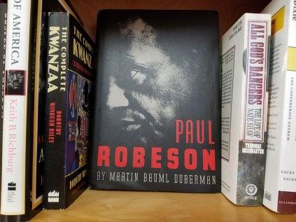 Paul Robeson at Logos