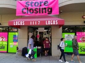 Logos Store Closing