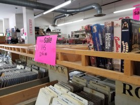 VHS Sale at Logos Books