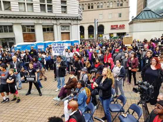 Rally in Oscar Grant Plaza to Reclaim King's Radical Legacy
