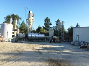 Mendocino Forest Products pellet mill in Calpella, CA