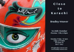 A month's artist residency in Karachi Sept 2015 and solo show, London http://tribune.com.pk/story/959988/metropolis-artists-in-residence-visualising-karachi-through-the-eyes-of-others/