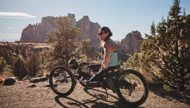 Adaptive bike, recumbent bike