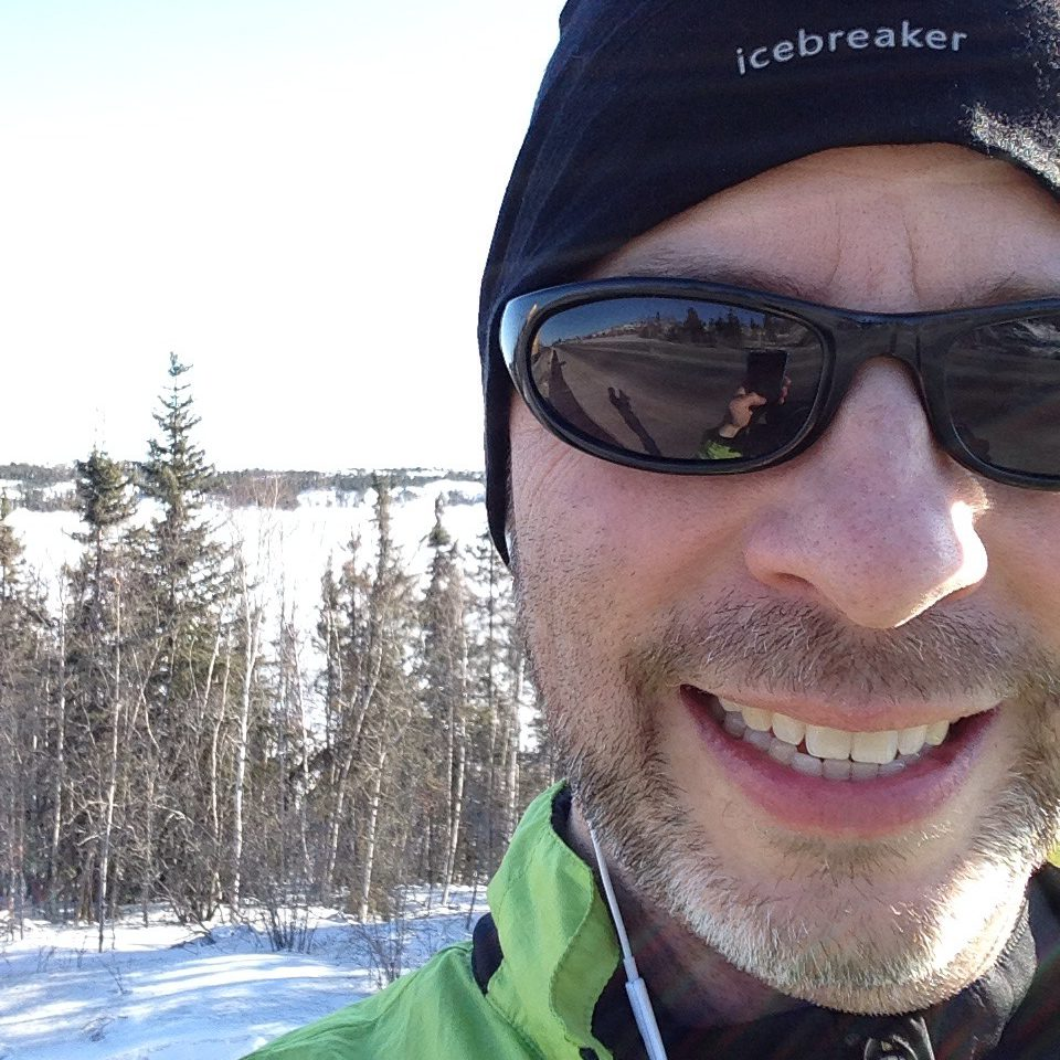 Running North of 60 (and below zero)