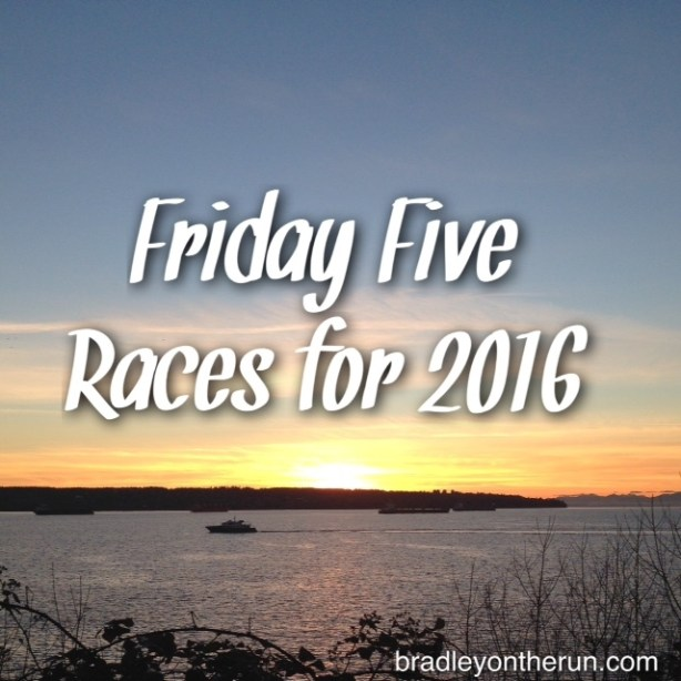 Friday Five Races