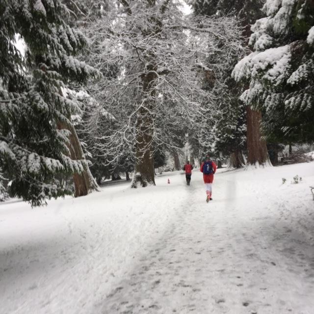 Big Elf Run – What's this White Stuff?