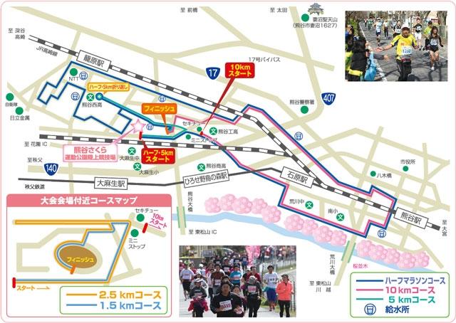 Kumagaya Sakura Marathon 2017